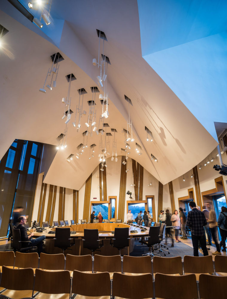 Scottish Parliament Committee Room pic. Andy Catlin